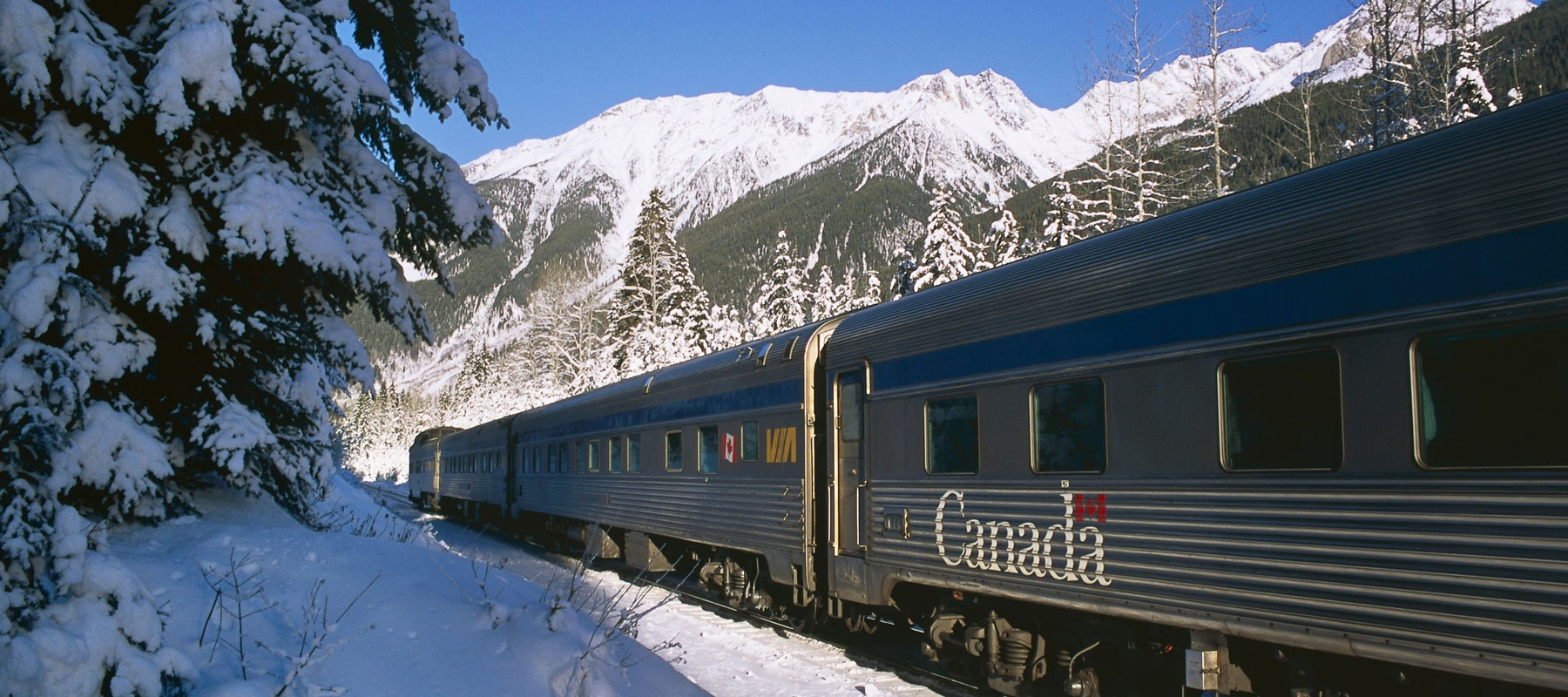 Canada Rail Vacations | Ride Through a Magical Winter Wonderland by Rail