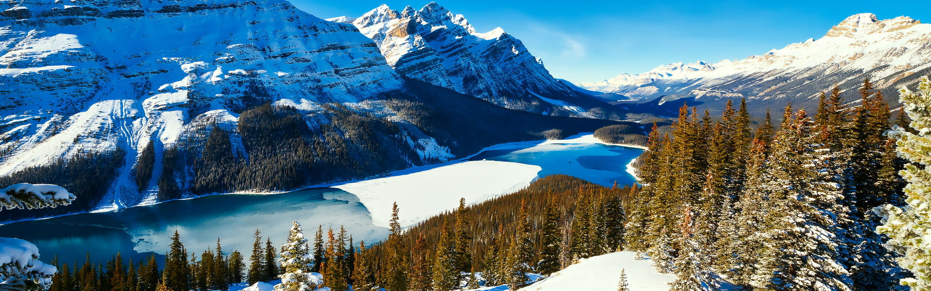 Canada Winter Train Vacations | Snow Train to the Rockies