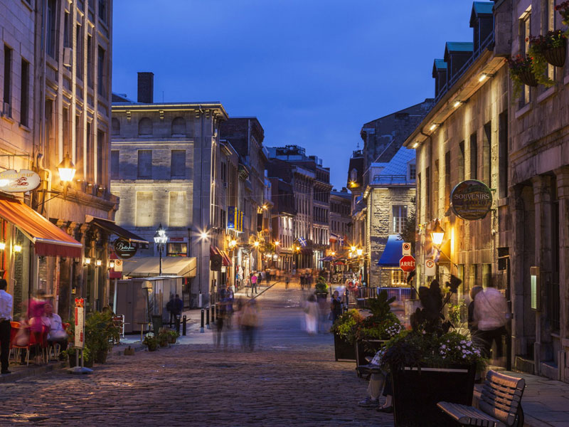 Montreal & Quebec Cities by Rail   Montreal