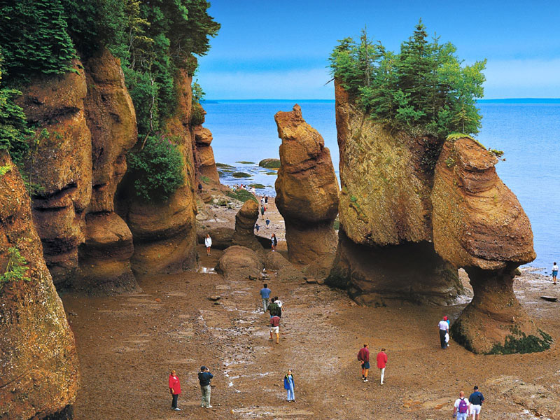 Atlantic Maritimes Explorer by Rail | Bay of Fundy