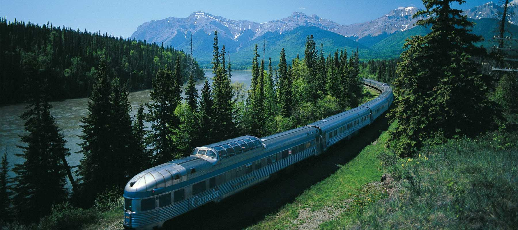 Canada Rail Vacations | Discover the Romance of a Trans Continental Rail Journey