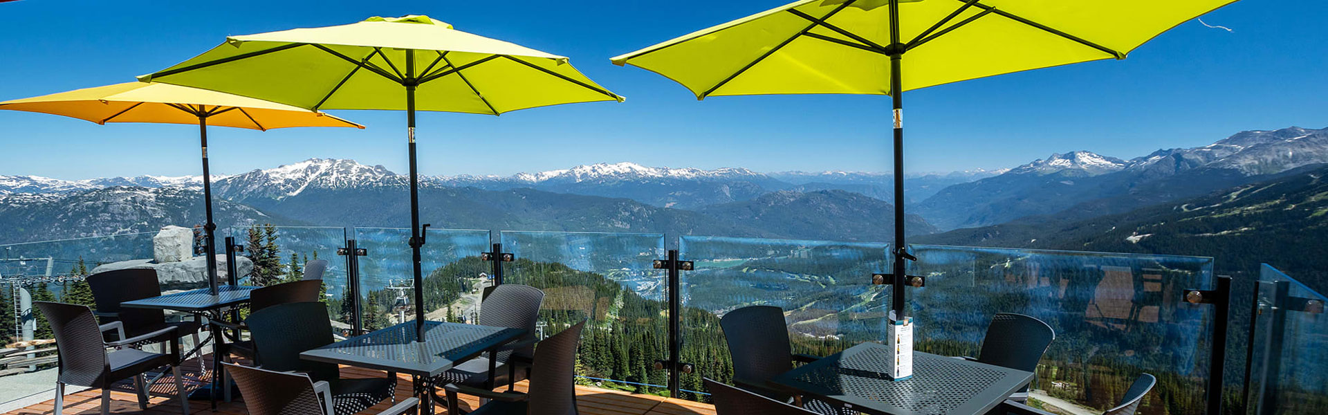 Whistler Rail Vacations | Summer Patio Season