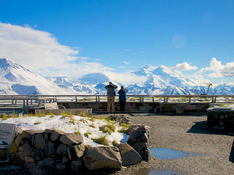 Canadian Rockies Train Combo Circle Tour with Alaska Denali Cruise Tour | Denali