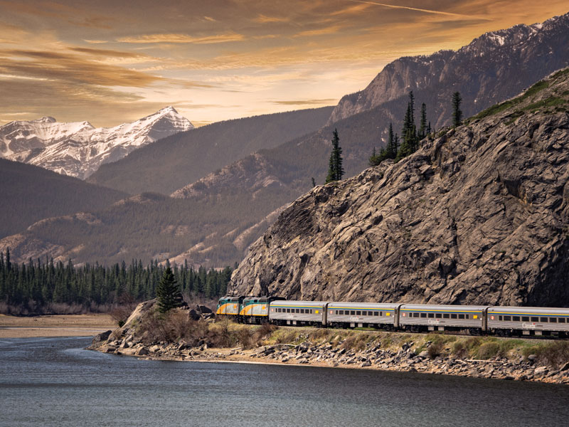Canadian Trails Rail Across Canada | VIA Rail