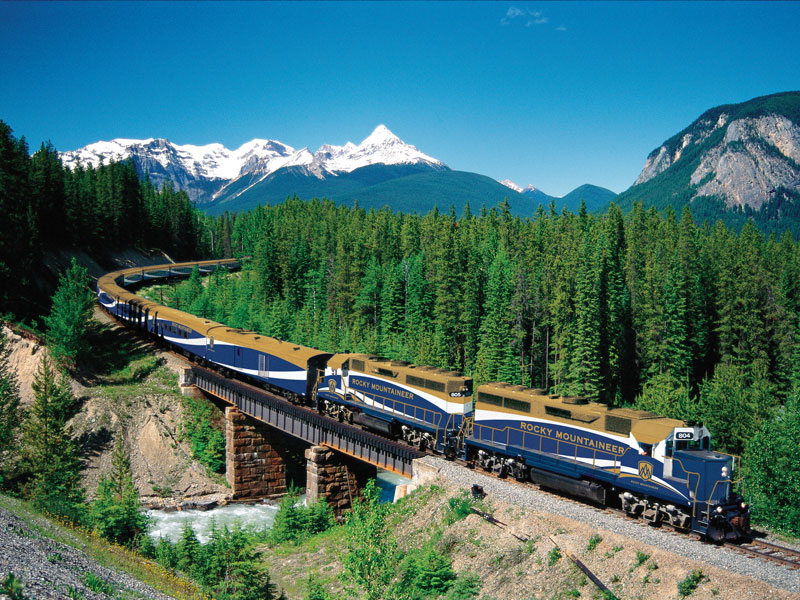 Canadian Trails Rail Across Canada | Rocky Mountaineer
