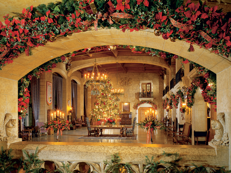 Christmas in the Canadian Rockies Winter Rail Vacations | Fairmont Banff Springs Hotel