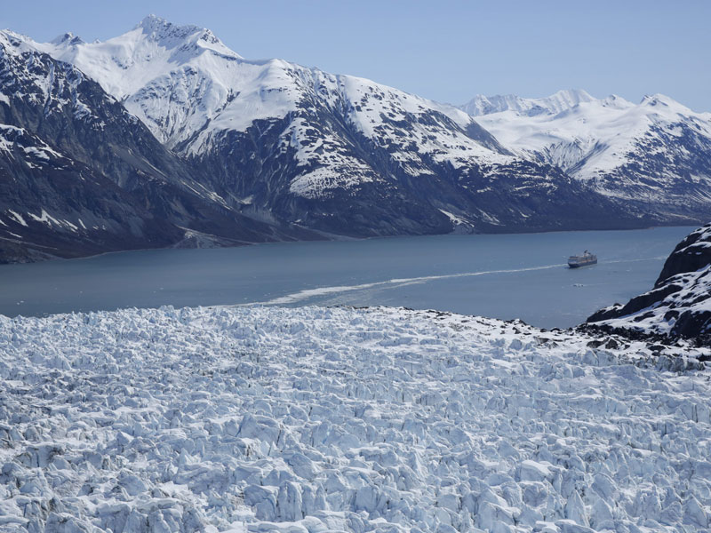 Circle Tour by Train through the Canadian Rockies with Alaska Cruise | Glacier Bay