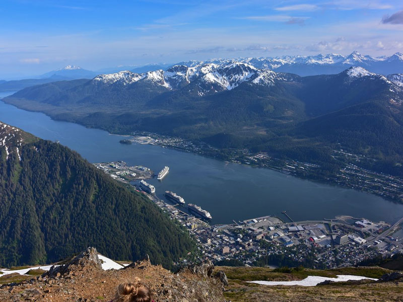 Circle Tour by Train through the Canadian Rockies with Alaska Cruise | Juneau