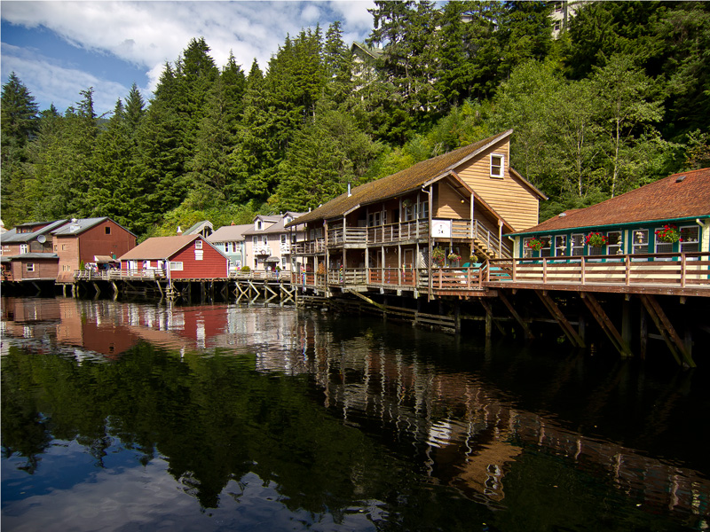 Circle Tour by Train through the Canadian Rockies with Alaska Cruise | Ketchikan