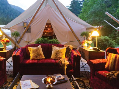 Clayoquot Wilderness Lodge | Canadian Rockies Rail Trip Combo