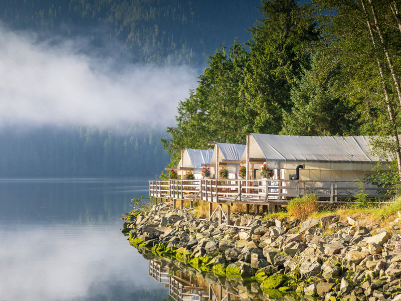 Clayoquot Wilderness Resort | Canadian Rockies Train Trip Combo