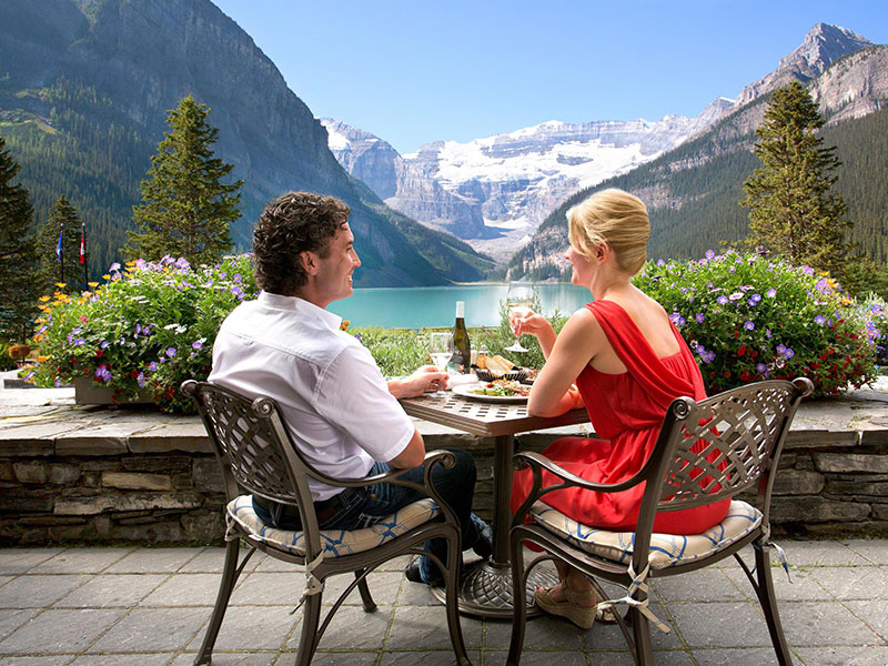 Complete Canadian Rockies by Rail | Fairmont Chateau Lake Louise
