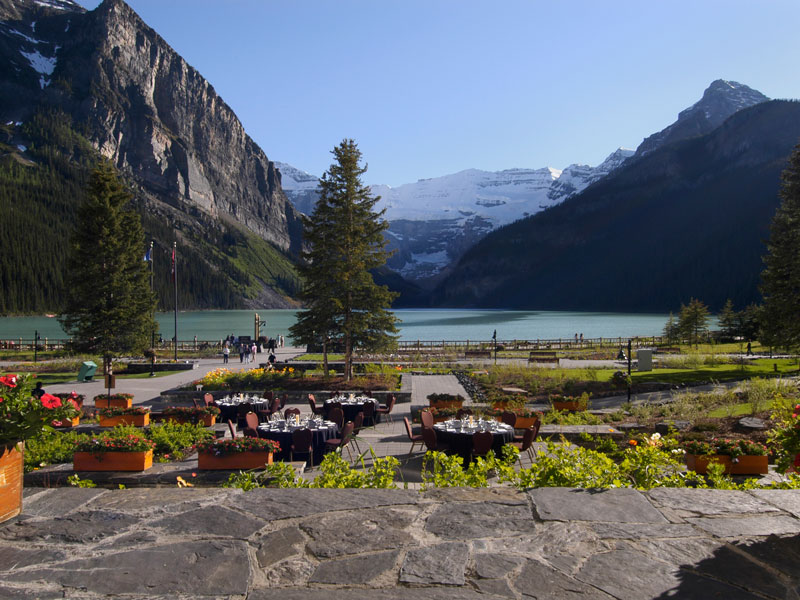 Stay at the Fairmont Chateau Lake Louise | Canadian Rockies Train Vacations