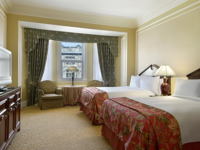 Stay at the Fairmont Chateau Laurier | Ottawa Canada Train Vacations