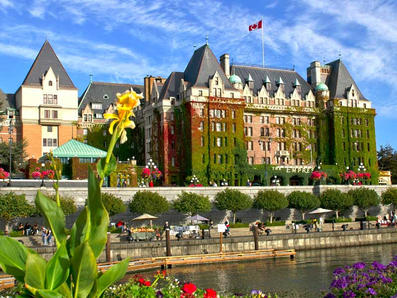 Stay at the Fairmont Empress Hotel Victoria | Canadian Rockies Train Vacations