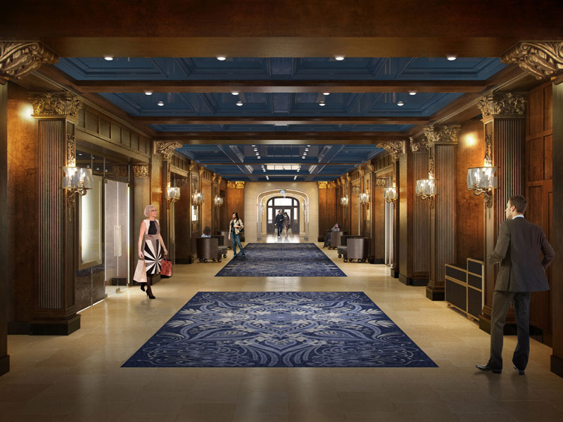 Stay at the Fairmont Le Chateau Frontenac Hotel   Eastern Canada Train Vacations
