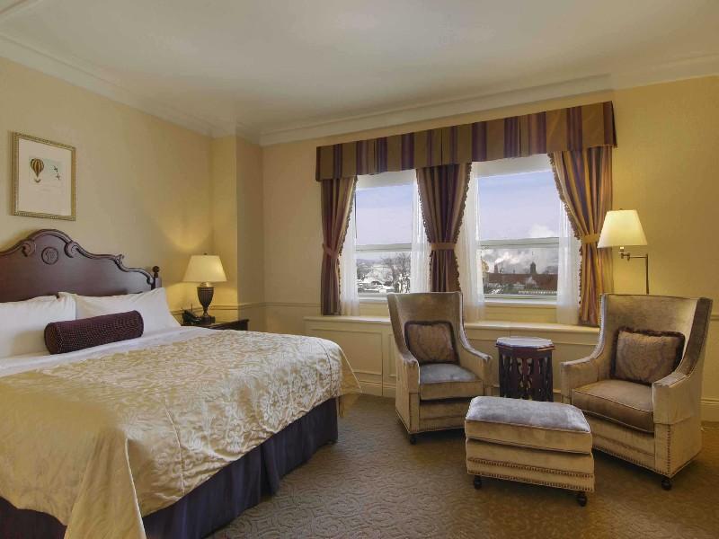 Stay at the Fairmont Le Chateau Frontenac Hotel | Eastern Canada Train Vacations