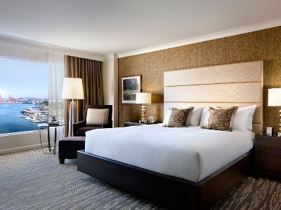 Fairmont Waterfront Hotel Vancouver | Harbor View Room