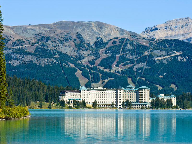 Grizzly Bears & the Canadian Rockies Train Vacation | Fairmont Chateau Lake Louise