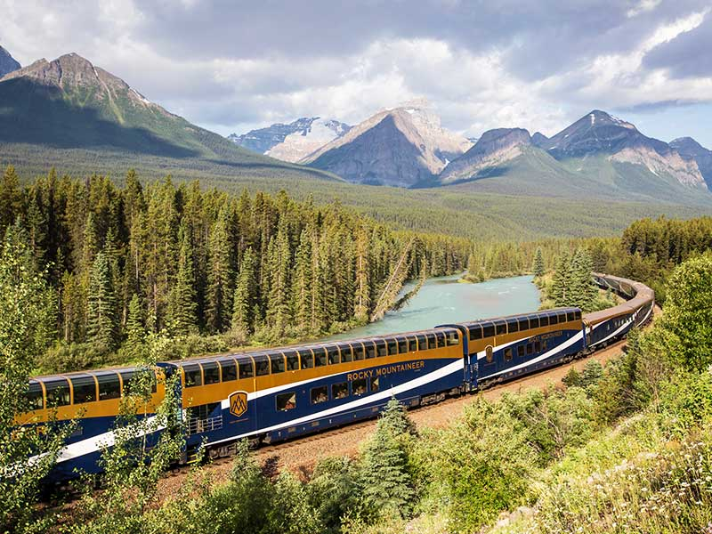 Journey through the Canadian Rockies Rail & Drive | Rocky Mountaineer