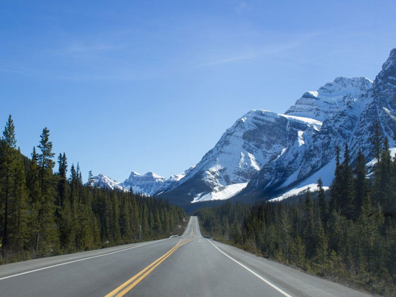 Journey through the Canadian Rockies Rail & Drive | Driving through the Canadian Rockies