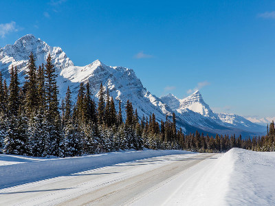 Luxury Snow Train to the Canadian Rockies