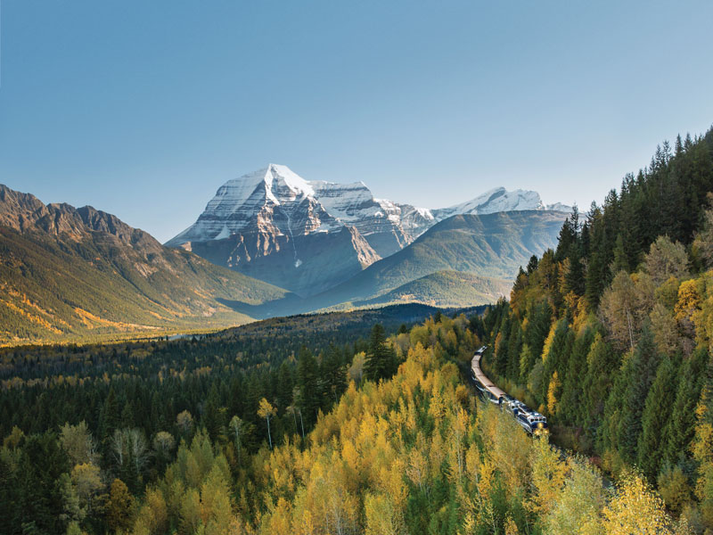 Luxury Train Journey of the Canadian Rockies | Rocky Mountaineer | VIA Rail
