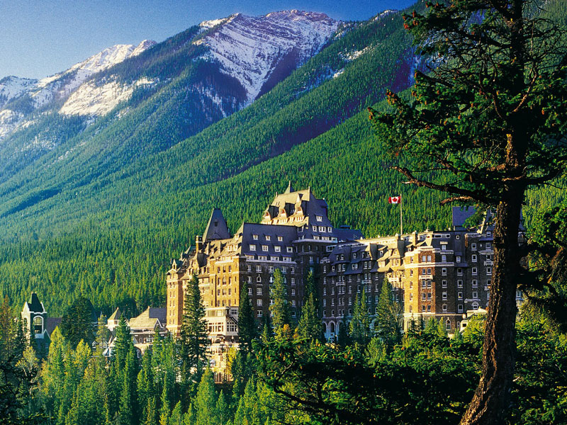 Luxury Train to the Canadian Rockies | Fairmont Banff Springs