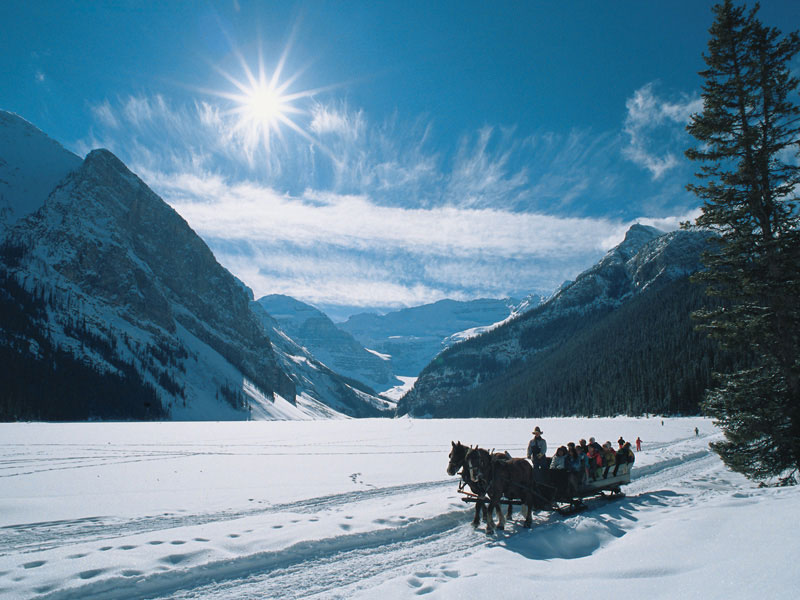 Winter Snow Train to the Canadian Rockies | Lake Louise
