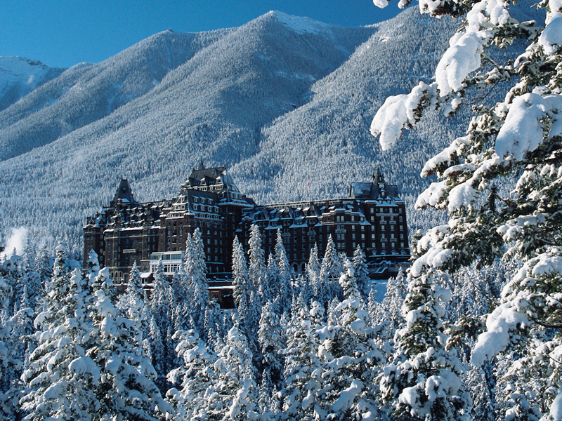 Canadian Rockies Winter Rail Trips | Fairmont Banff Springs Hotel